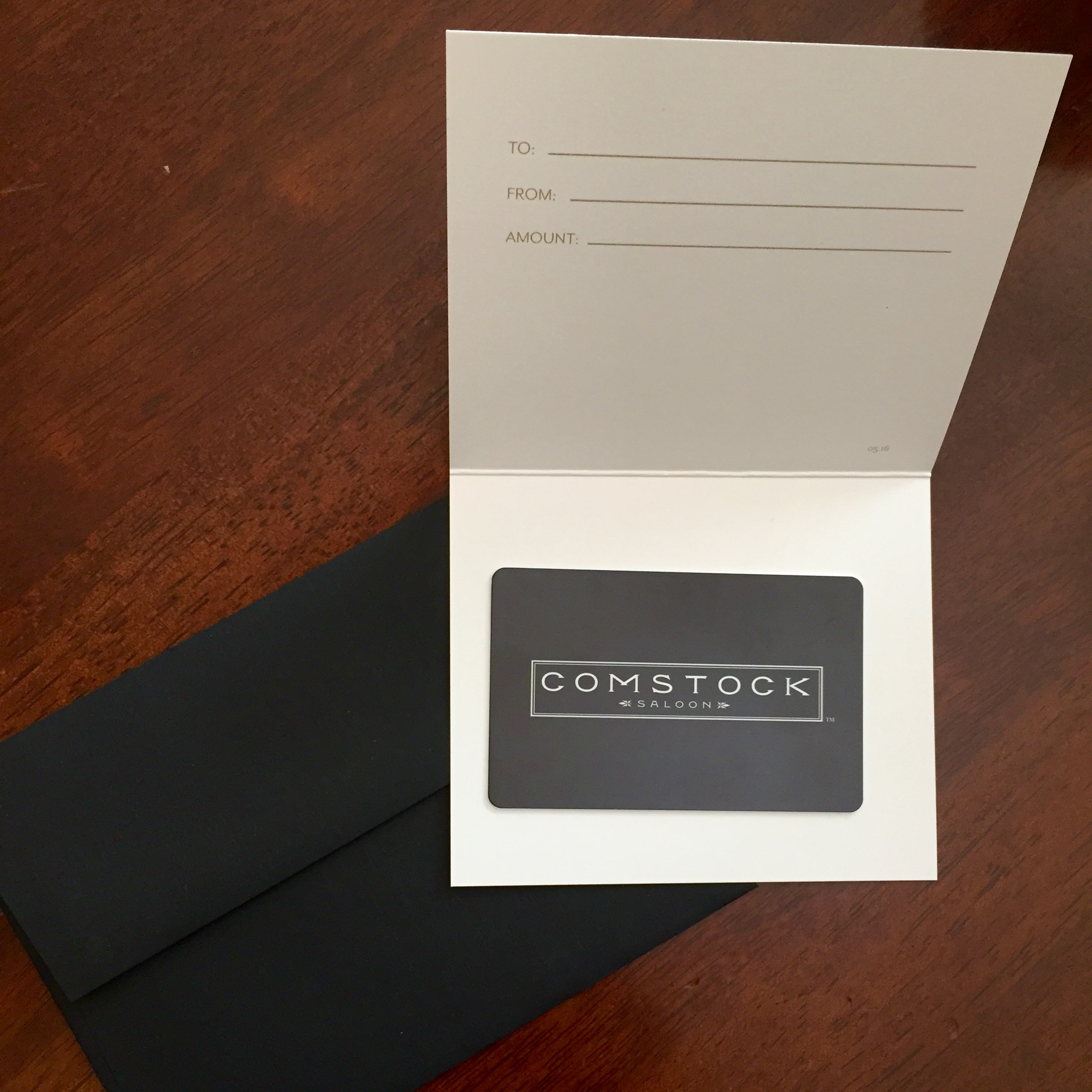 Comstock Gift Card